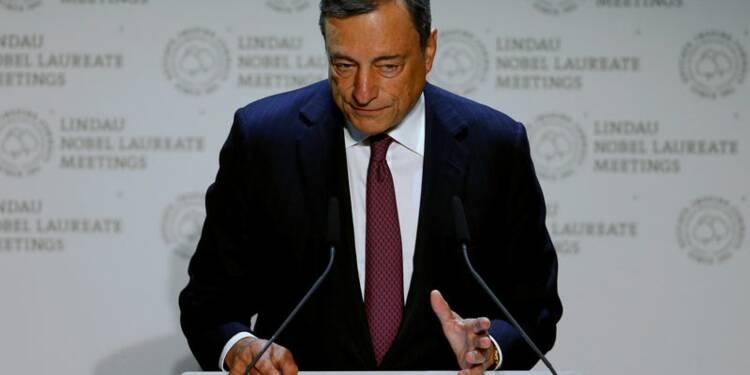 La politique non conventionnelle a réussi, doit encore être étudiée, dit Draghi