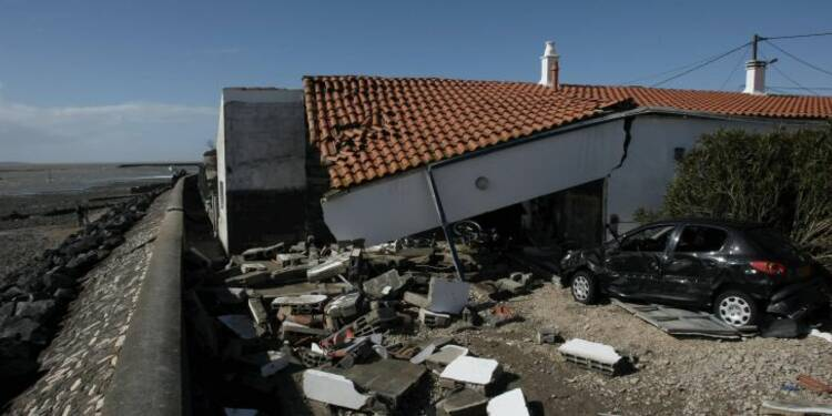 La tempête Xynthia coûterait un milliard d'euros aux assureurs