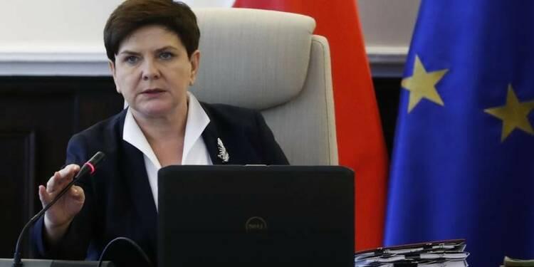 Travail détaché: La Pologne ne bougera pas, promet Szydlo