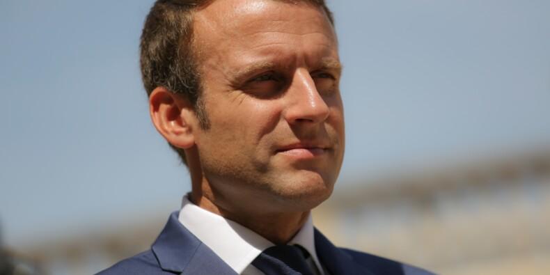 L'énorme facture de maquillage réglée pour Macron