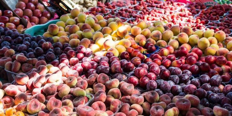Les prix des fruits et légumes en nette baisse cet été