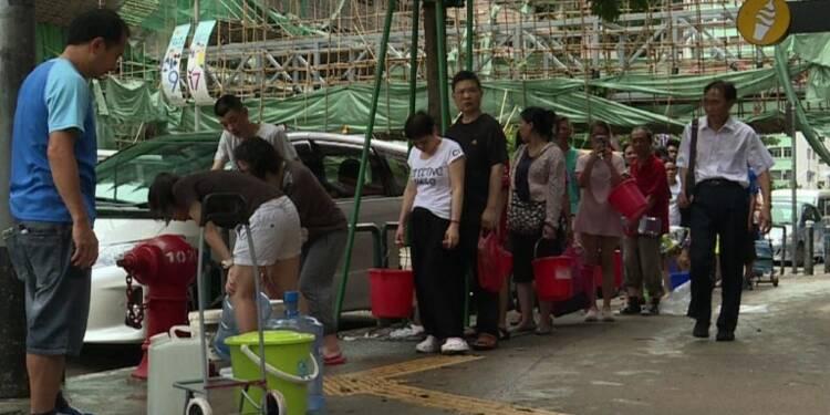 Typhon Hato:Macao sévèrement touché, le gouvernement s'excuse