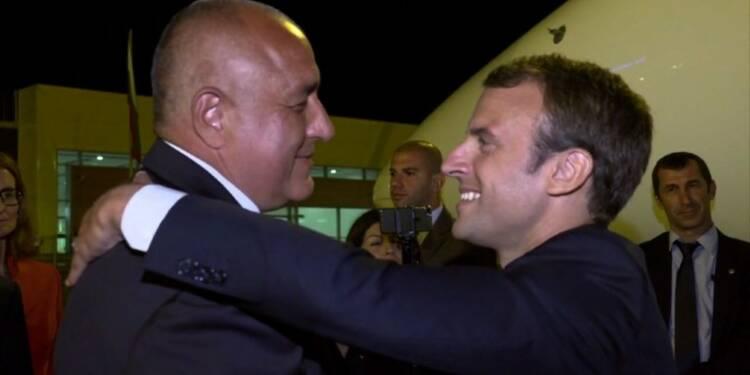 Emmanuel Macron en Bulgarie, dernière étape de sa tournée