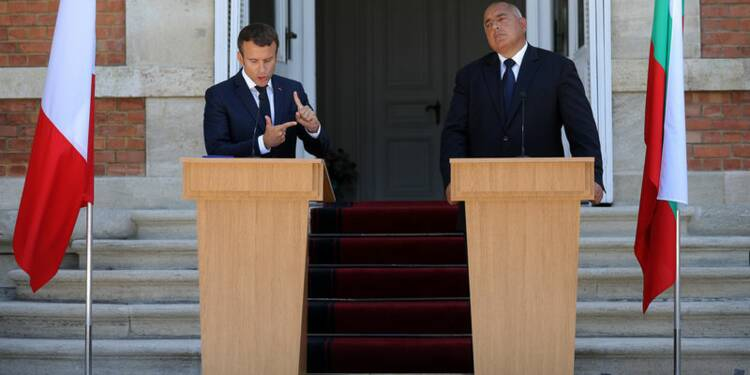 Macron et Borissov optimistes sur un accord sur le travail détaché