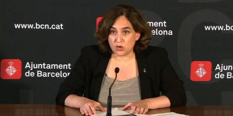 La maire de Barcelone invite tout le monde à manifester samedi