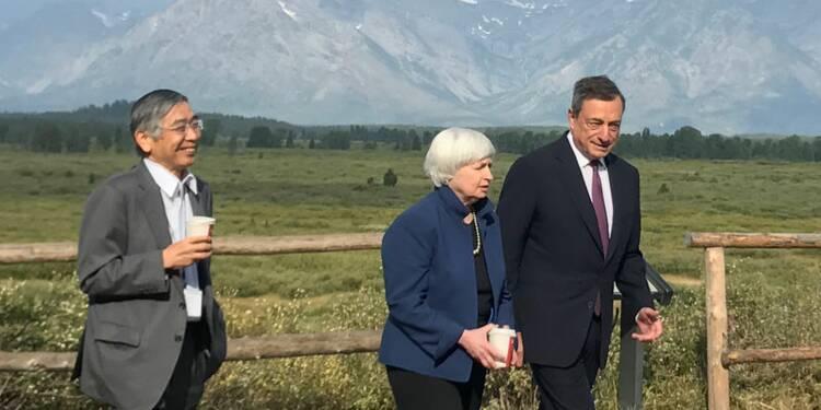 L'économie selon Trump n'a pas fait recette à Jackson Hole