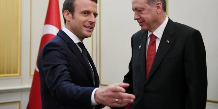 Entretien Macron-Erdogan sur la situation de Loup Bureau