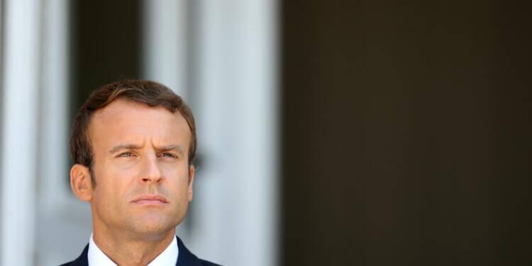 """Macron condamne le tir de missile """"irresponsable"""" de la Corée du Nord"""