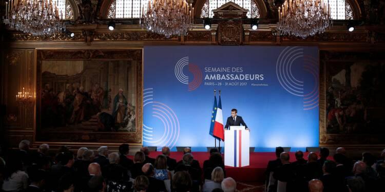 Le Venezuela répond aux critiques d'Emmanuel Macron