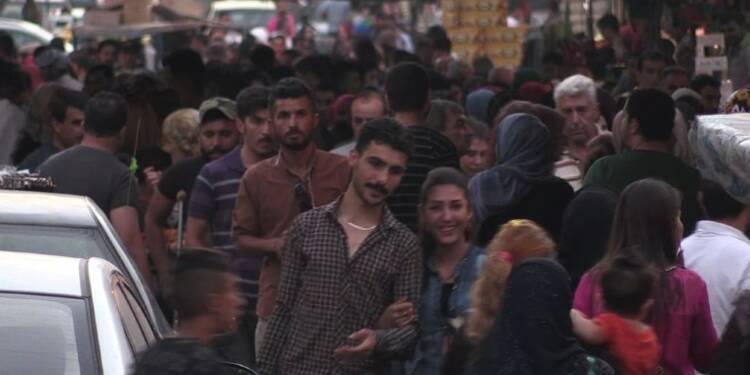Syrie: préparation de l'Aïd en zone kurde