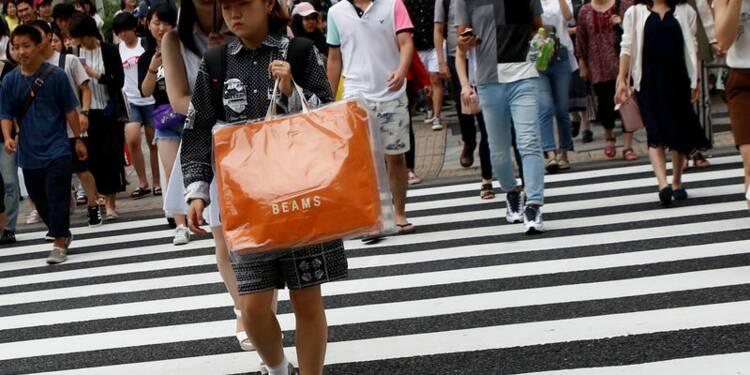 Hausse de 1,9% des ventes au détail au Japon en juillet