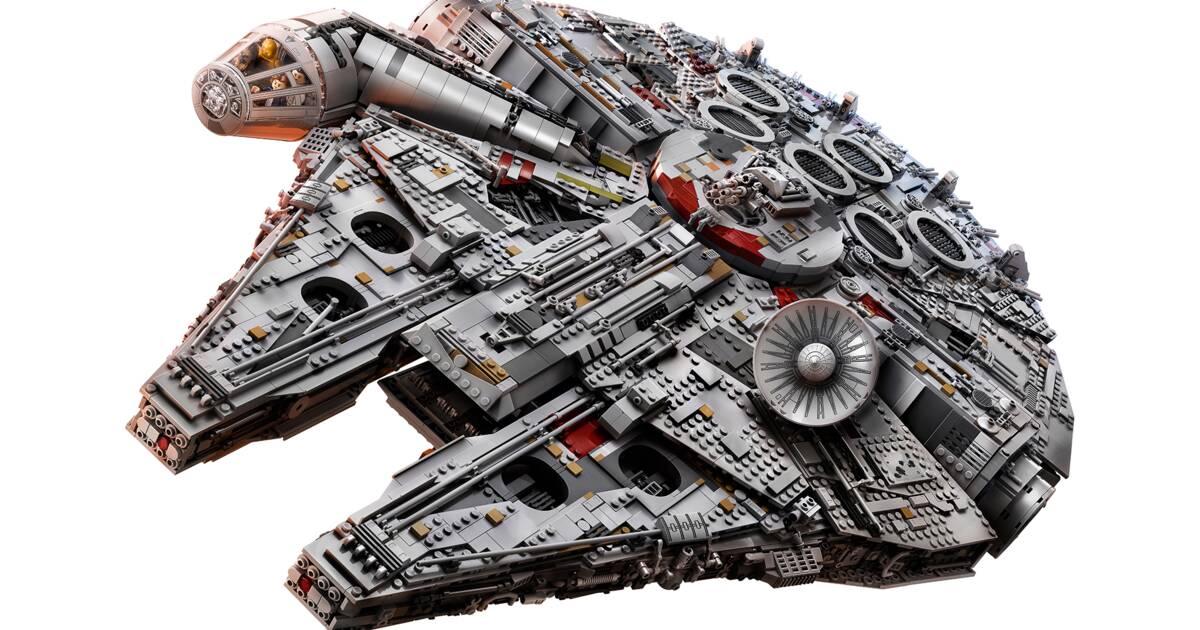 La Faucon Star De Millenium Lego Chère Wars Plus Boîte Le Devient BErdQeWCxo