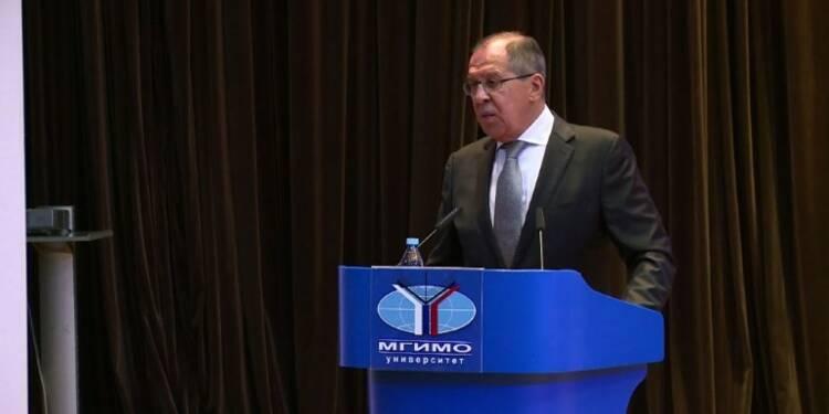 Moscou:Lavrov considère l'équipe Obama responsable des sanctions