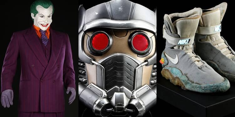 Batman, Gardiens de la Galaxie, Retour vers le futur, Star Wars… Des objets de films cultes mis aux enchères