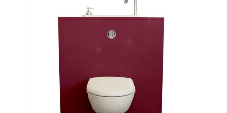 Dans ces WC, vous pouvez aussi vous laver les mains