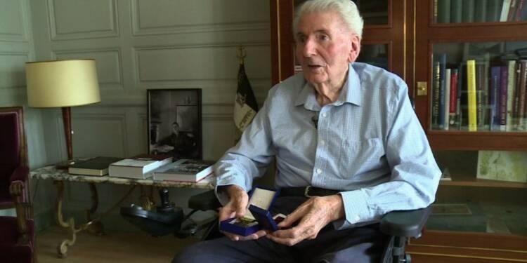 Hubert Germain, un des derniers Compagnons de la Libération
