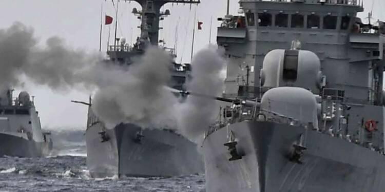Corée du Sud: manoeuvres navales en réaction à Pyongyang