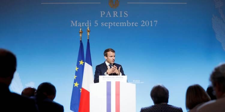 Macron annonce une hausse de 7% du budget de l'Intérieur en 2018
