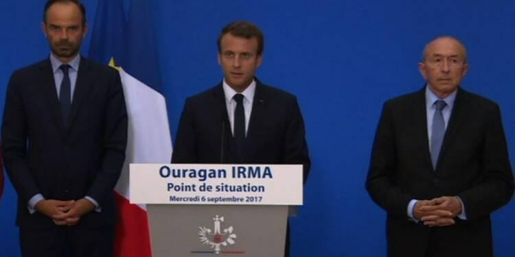 Irma: Macron annonce un