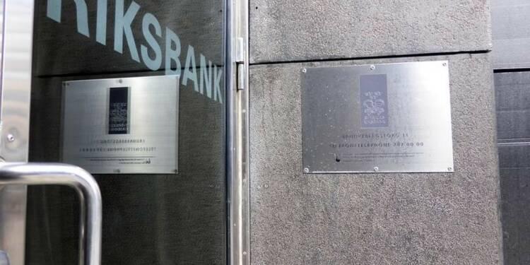 La suédoise Riksbank laisse ses taux inchangés, comme prévu