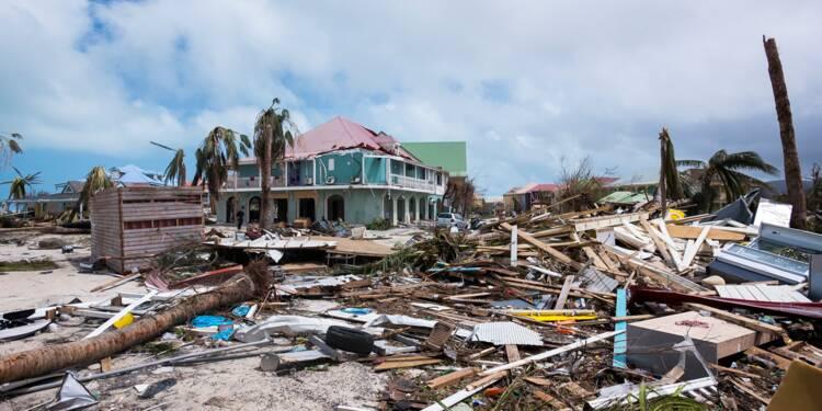 Ouragans Irma et Maria: dégâts estimés à près de 2 milliards d'euros