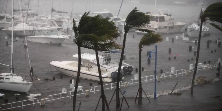 En perte de vitesse, Irma frappe l'ouest de la Floride