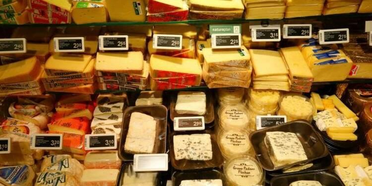 L'UE ne comprend pas l'arrêt des importations chinoises de fromages