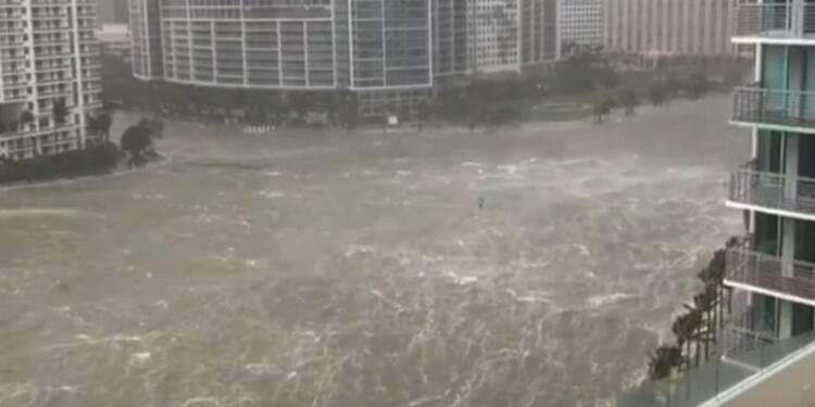 Irma inonde le quartier des affaires de Miami