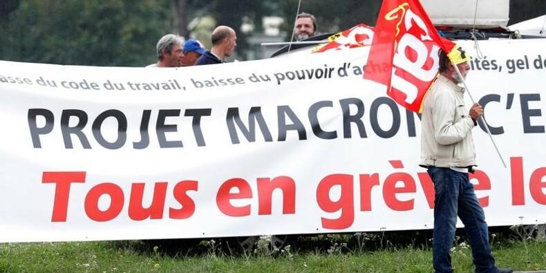 """""""Première étape"""" de la mobilisation contre la réforme du Travail"""