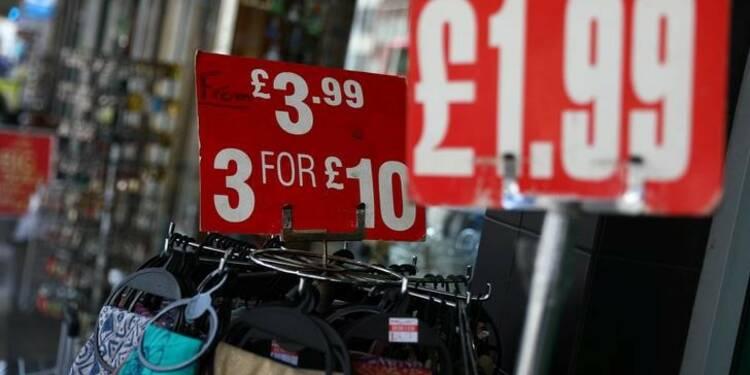 L'inflation en Grande-Bretagne plus forte que prévu en août