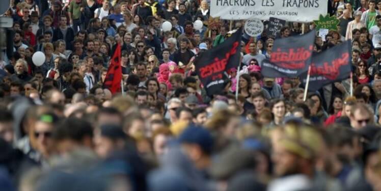 Code du travail : des dizaines de milliers de manifestants dans la rue