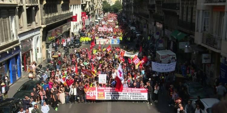 Réforme code du travail: manifestation à Marseille