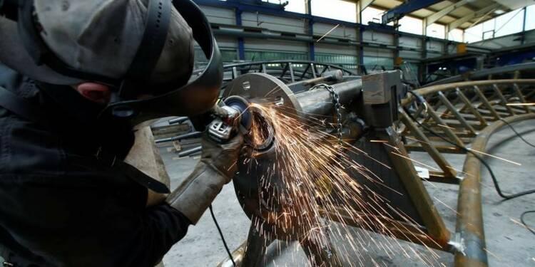 En zone euro, léger rebond de la production industrielle