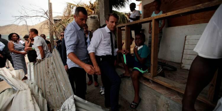 Irma: Macron promet une aide d'urgence d'ici lundi