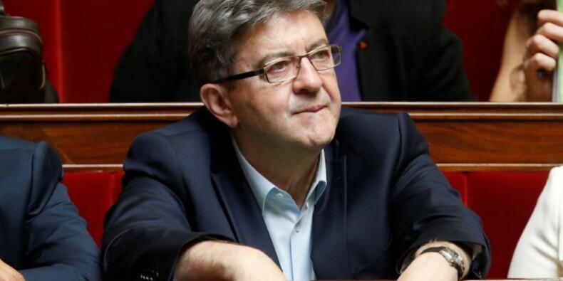 Mélenchon accuse Hamon et met en garde Macron