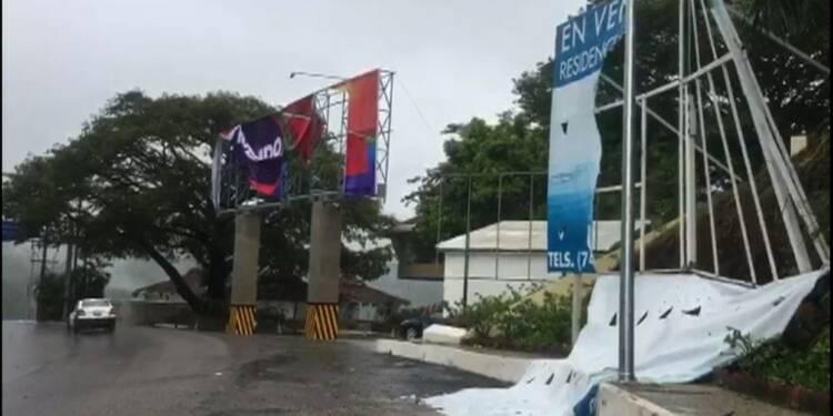 Mexique: l'ouragan Max s'approche de la côte pacifique