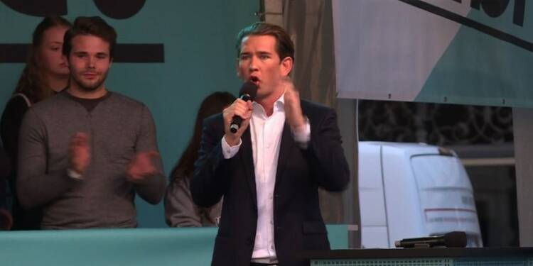 Sebastian Kurz,le jeune Autrichien encore plus pressé que Macron