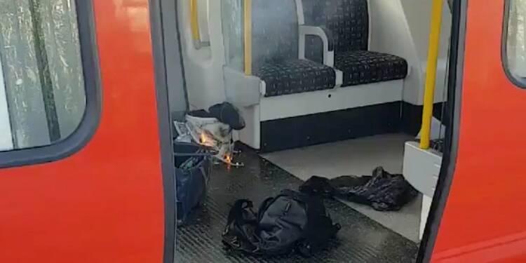 Une bombe artisanale fait 29 blessés dans un train londonien