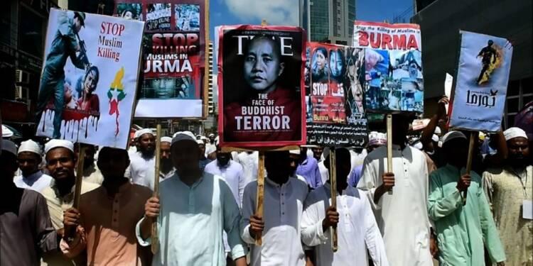 Bangladesh: 20.000 islamistes manifestent pour les Rohingyas