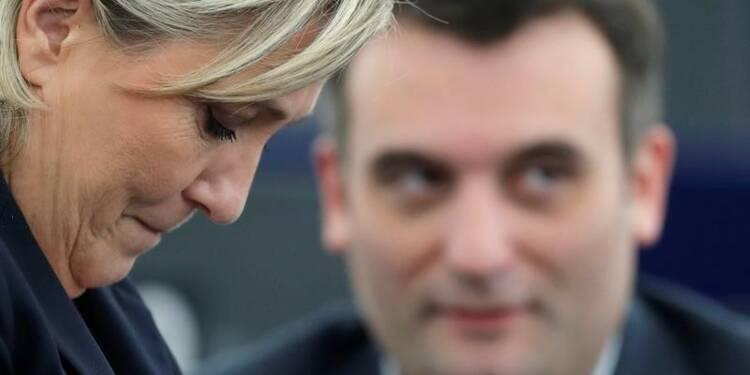 Philippot adresse une fin de non-recevoir à Le Pen