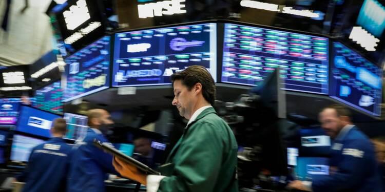 Les records s'enchainent, bancaires recherchées — Wall Street