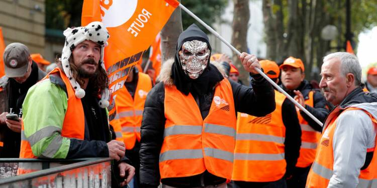 Les routiers relancent la contestation sociale