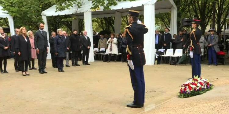 Cérémonie en hommage aux victimes du terrorisme à Paris