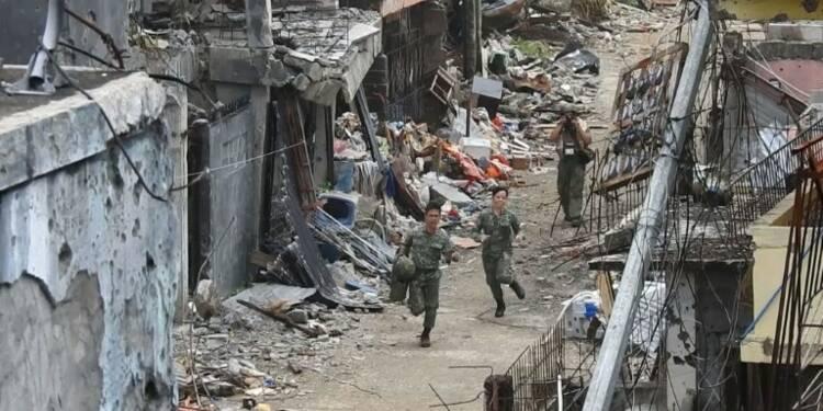 L'armée philippine reprend le contrôle d'un quartier de Marawi