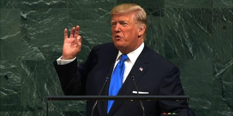 """Trump à l'ONU menace de """"détruire totalement"""" la Corée du Nord"""
