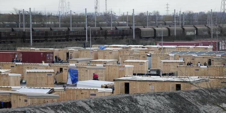 Evacuation d'un camp de migrants à Grande-Synthe