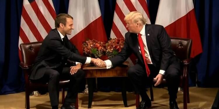 Rencontre entre Macron et Trump en marge de l'AG de l'ONU