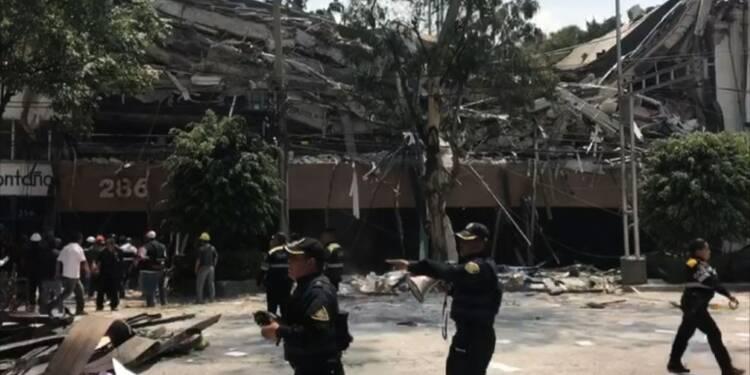 Mexique: un puissant séisme secoue la ville de Mexico