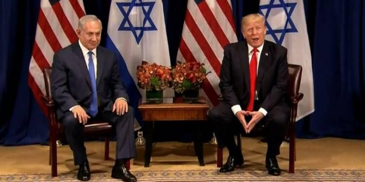 """Un accord de paix israélo-palestinien """"est possible"""" dit Trump"""