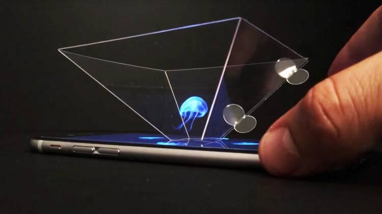 Transformez votre smartphone en projecteur d'hologrammes